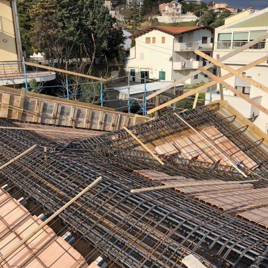Realizzazione del tetto